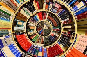 bibliotheque pour les livres traditionnels papier